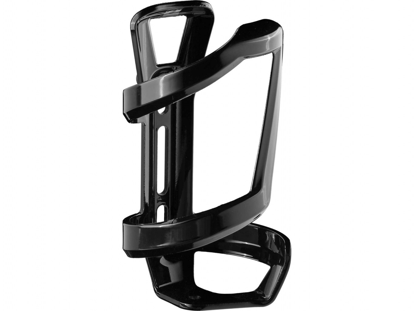 BONTRAGER SIDE LOAD WATER BOTTLE CAGE černý lesk