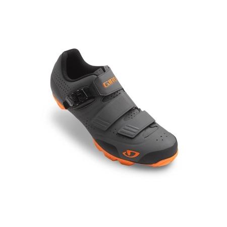 GIRO PRIVATEER R MTB šedá/oranžová