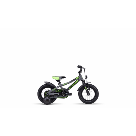 CTM BILLY šedá/zelená