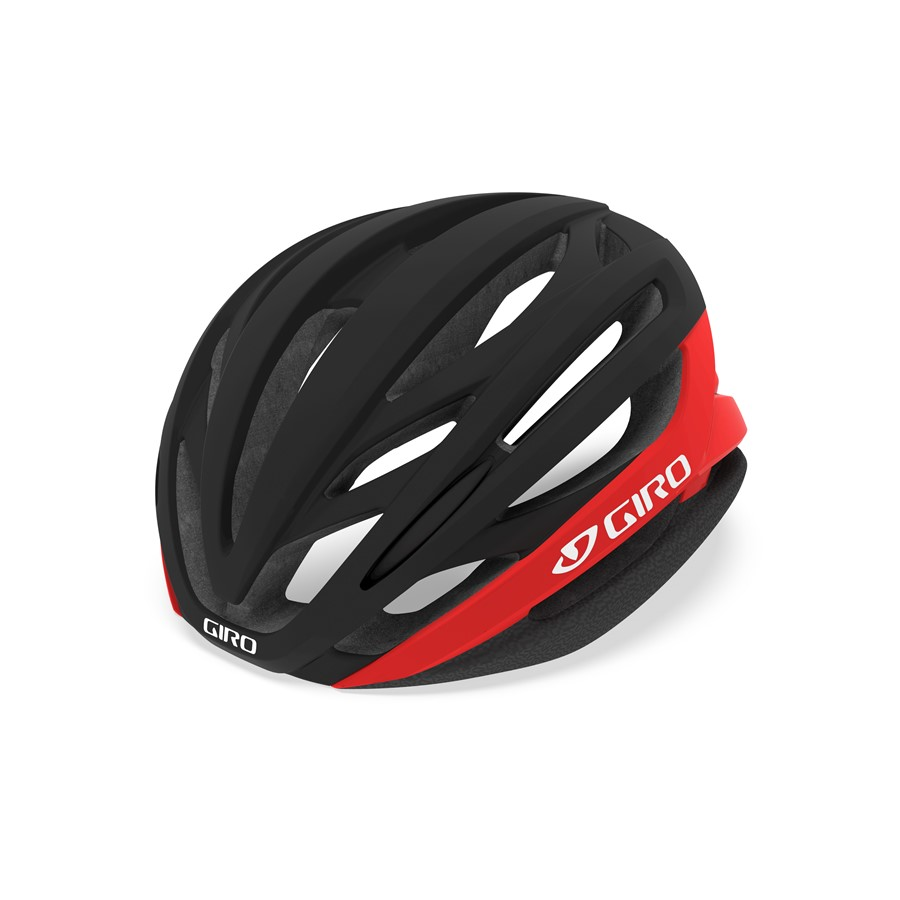 GIRO SYNTAX mat black/red
