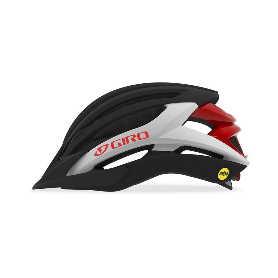 GIRO ARTEX MIPS mat black/white/red