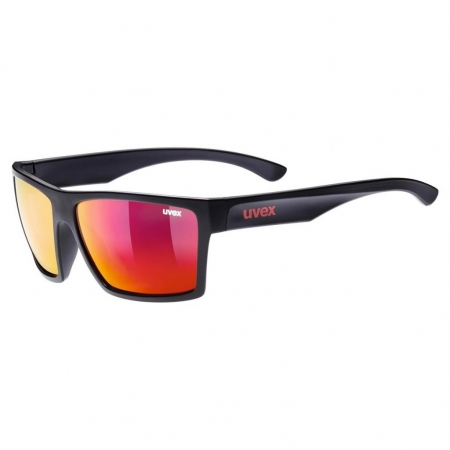 UVEX LGL 29 black/red