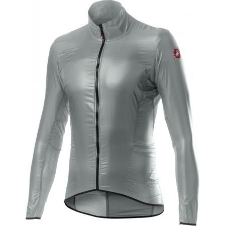 CASTELLI ARIA SHELL JACKET silver gray