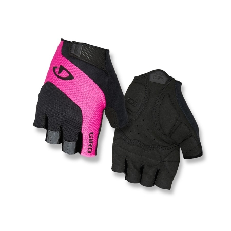 GIRO TESSA black/pink