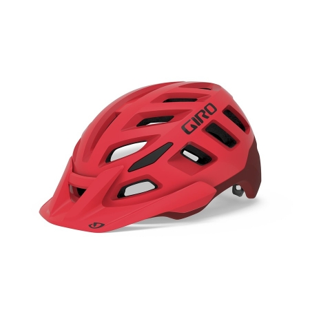 GIRO RADIX mat bright red/dark red
