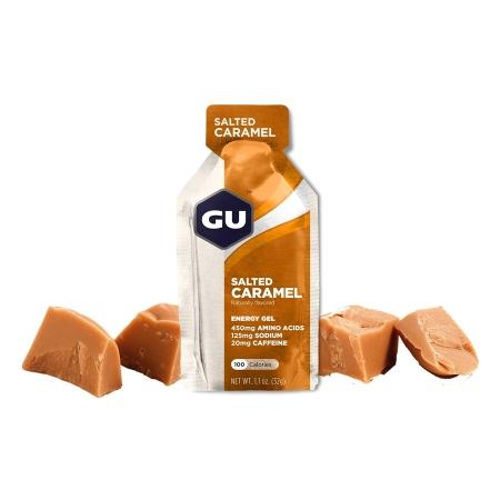 GU Energy 32 g Gel - salted caramel 1 SÁČEK