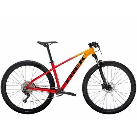 TREK MARLIN 7 Marigold to Radioactive Red Fade 2021
