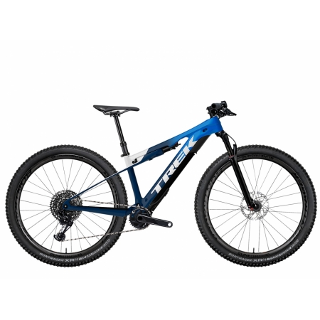TREK E-CALIBER 9.8 GX alpine blue 2021