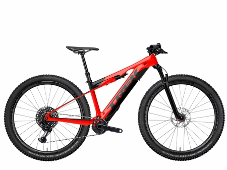 TREK E-CALIBER 9.9 XTR radioactive red 2021