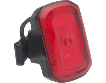 BLACKBURN CLICK USB black - zadní blikačka