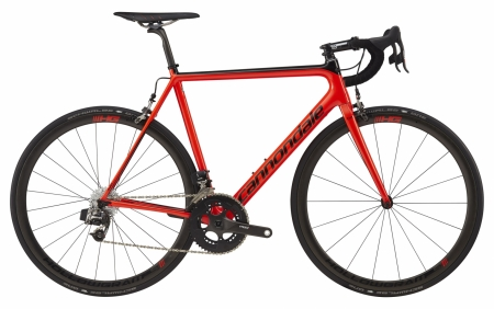 CANNONDALE SUPER SIX EVO HI-MOD RED ETAP 2017