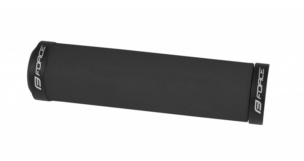 GRIPY FORCE silicon černá