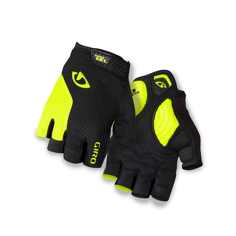 GIRO STRADE DURE black/highlight yellow